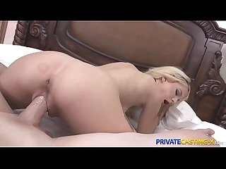 Private casting X blonde kenzie reeves fucks better than sings