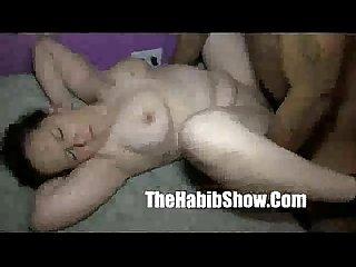 White Girl bj colon 12inch black monster cock fucks lil white pussy
