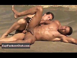 Huge dick latinos fuck bareback