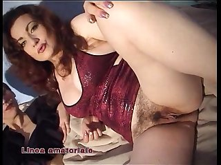 Jessica Rizzo has lesbian sex with a young amateur girl