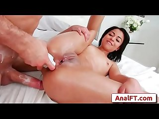 Grazy Almeida and Spencer Fox porn clip-04 from Anal Acrobats