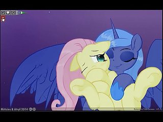 Fluttershy luna lucent dreams