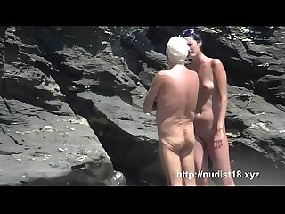 Nudist beach preys on young hotties