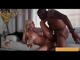 Busty MILF got her pussy stuffed hard by black cock - Brandi Love & Isiah Maxwell
