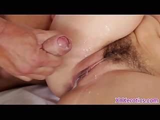 Girlfriend dani daniels pussyfucks her man