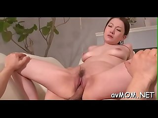 Cute mom rams 2 cocks in her face hole and gets creamed