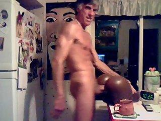 Paizo solitrio detonando brinquedo de Borracha com seu caceto