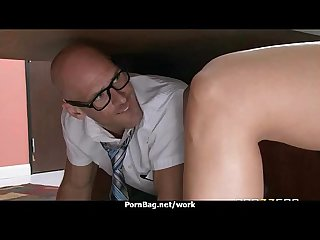 Big tit latina boss fucks employee s hard dick in office 11