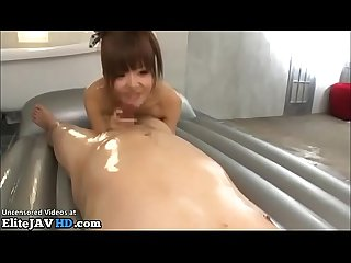 Jav 18yo oiled massage sex with old man more at elitejavhd com