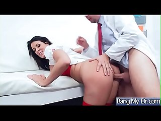 Slut Hot Patient (Reagan Foxx) Get Seduced By Doctor And Banged mov-21