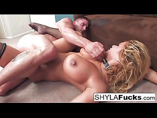 Shyla's Hard Anal Fuck and a Facial