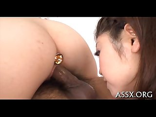 3some with cute asian pet villein