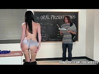 Brazzers sexy teacher dava foxx fucks student