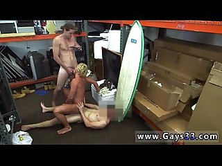 Xxx gay pawn blonde muscle surfer man needs cash