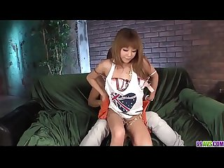 Kokoa Ayane enjoys the couch for a pleasant hard fuck - More at 69avs com
