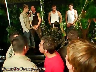Young gay boy and gay Teen twink dozens of dudes go bananas for