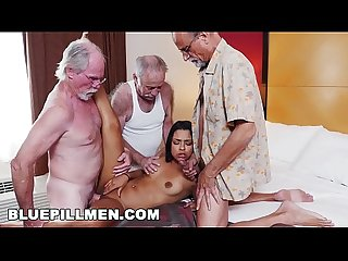 Blue pill men three old men and A latin lady named nikki kay