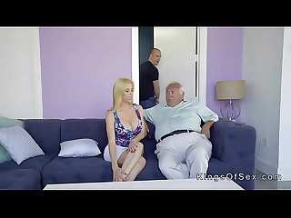 Huge tits stepmom helps guy with boner