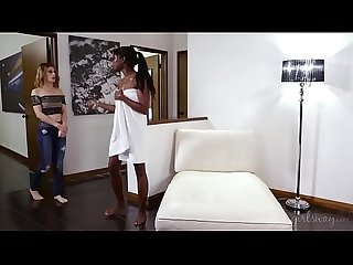 Kristen can t refuse the ebony beauty Ana foxxx