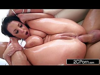 Busty Australian angela white is a nasty anal angel