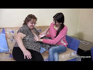 Fat lezzie mature and a babe