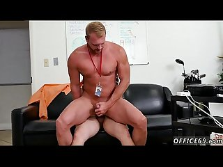 Male hairy ass movies gay porn xxx This week the office gets a new