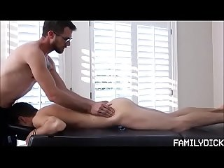 Young Stud massage and fucked