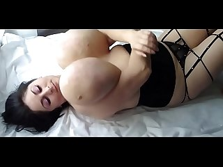 Alice 85JJ Huge Naturals - Laying On Bed