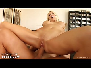 Blonde mommy gangbanged by 3 boys part 6 6
