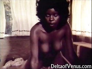 vintage interracial porn open road