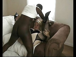 Big black cock spunking in rachels pussy