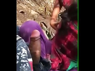 Mallu girl outdoor cock sucking & Boobs showing to boyfriend