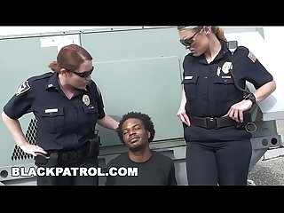 BLACK PATROL - Thug Runs From Cops, Gets Caught: My Dick Is Up, Don\'t Shoot!