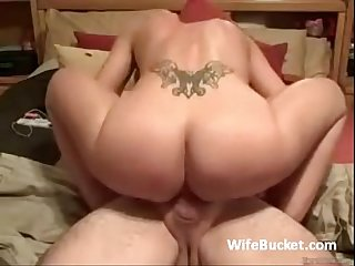 Fake tit wife squirting