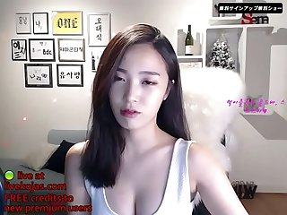 Korean bj sexy striptease live at livekojas com