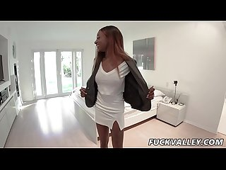 Kinsley Karter In Open House Open Blouse