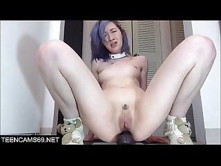 Webcam girl anal destruction
