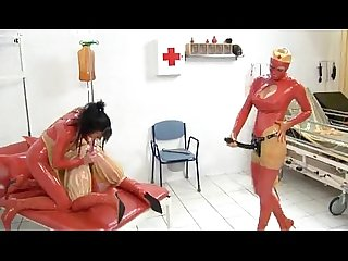 Clinic film the induction of patient rubber lesbian s fetish 200