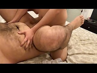 Big booty twerking on fat dick