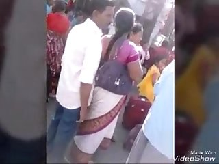 Daring men groped aunty in public