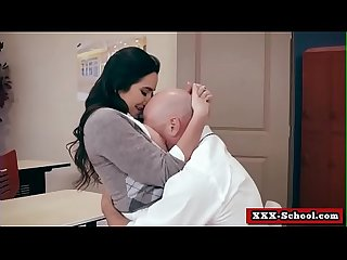 No Bubblecum In The Classroom (Karlee Grey and Johnny Sins) clip-01
