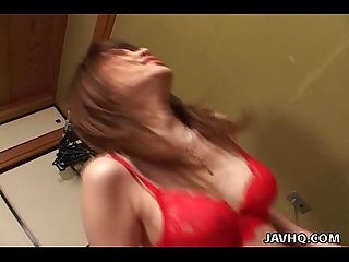 Sexiest japanese babe remi matsukawa drilled excl