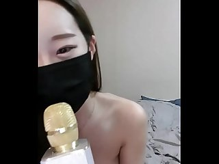 Korean BJ Big tit nude ! Sing on live stream !