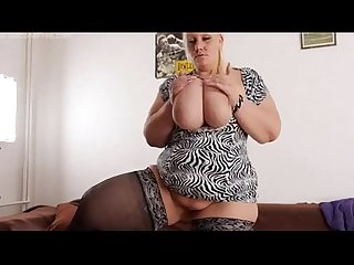 Awsome blonde bbw from desirebbws com