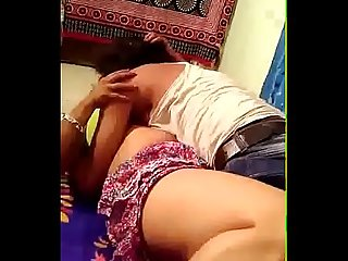 Mature aunty hard seduction at bedroom video