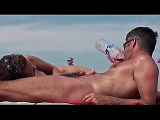 Nudist guys on the beach 6