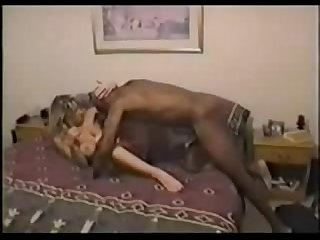 Big black cock tight white pussy