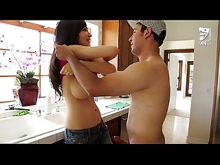 Axxxteca: Lucky Mexican fucks his hot friends mom in the ass Diana Prince