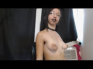 Petite Goth Girl with Hairy Armpits Jiggles and Bounces Tits Everywhere, Big Nipples