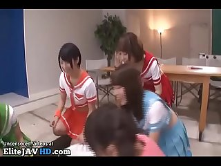Japanese horny schoolgirls fuck their teacher more at elitejavhd com